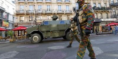 Opsadno stanje na ulicama Bruxellesa
