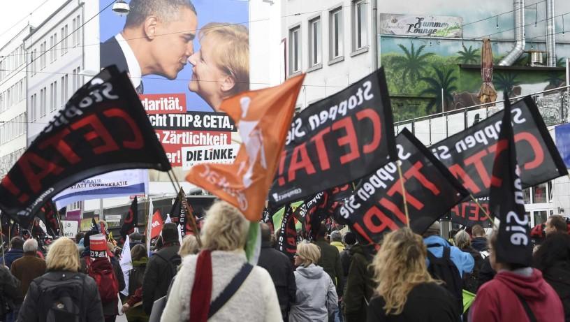 TTIP - Obama-Merkel