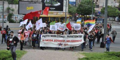 Prvomajska povorka Srbija