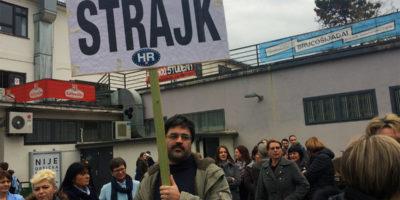 Štrajk radnika Studentskog centra