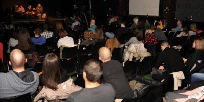 Foto: Mladen Pobi | Nakon projekcije filma pola auditorijuma napustilo dvoranu te je tribina održana pred manje publike nego se to očekivalo
