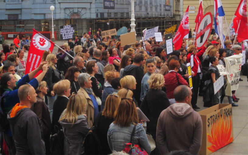 SOMK - prosvjed