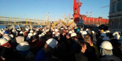 Stožer za obranu brodogradnje-Uljanik nastao je iz radničke baze