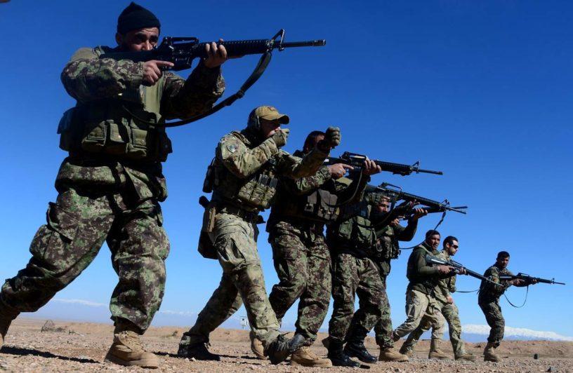 Foto: Aref Karimi  | NATO trupe