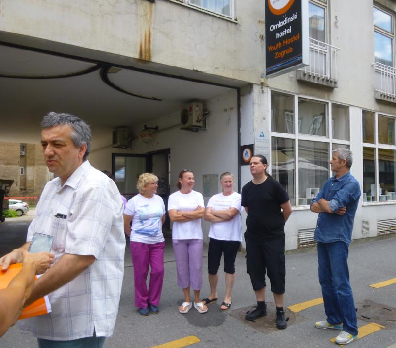 Foto: RP | Prizor sa zagrebačkog štrajka