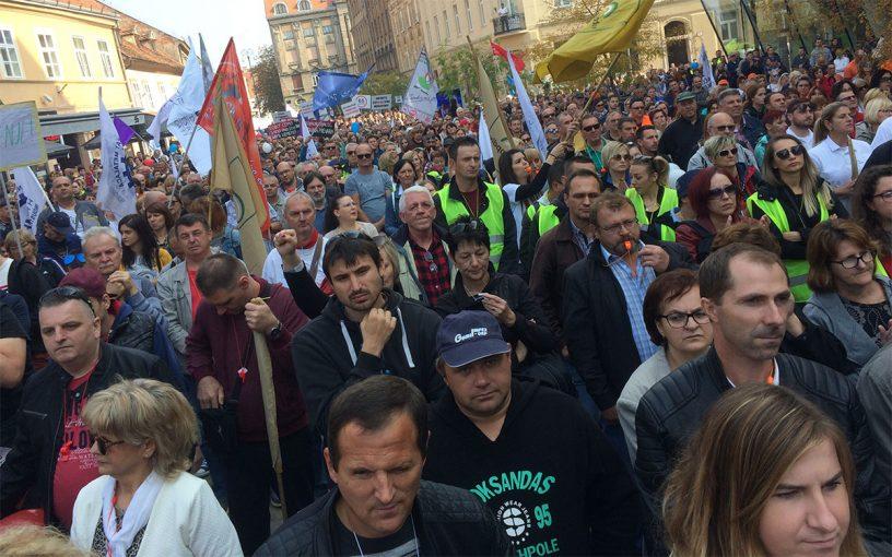 Prosvjed protiv mirovinske reforme