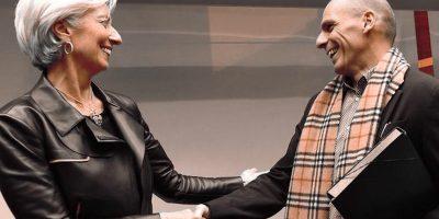 Christine Lagarde i Janis Varufakis