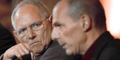 Wolfgang Schäuble i Varoufakis