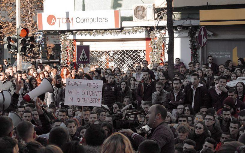 Studentski prosvjedi u Albaniji