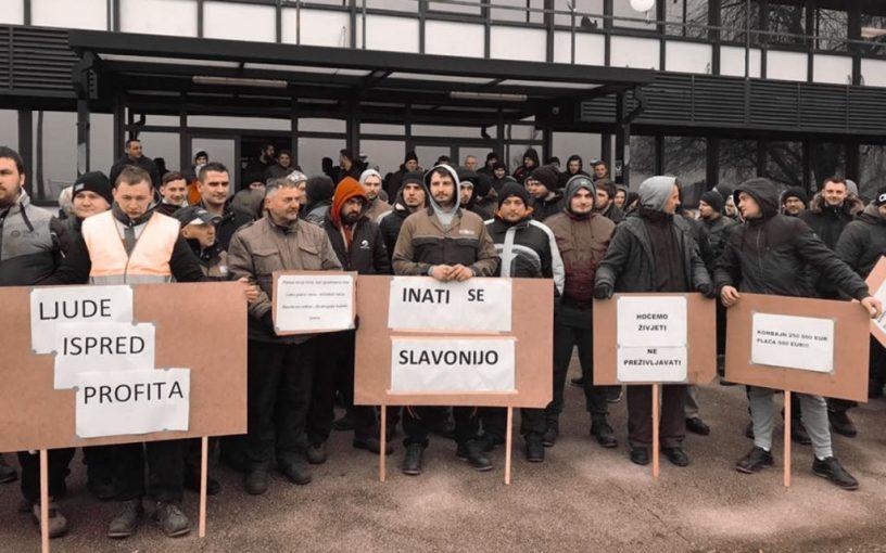 Štrajk radnika SDF Žetelice
