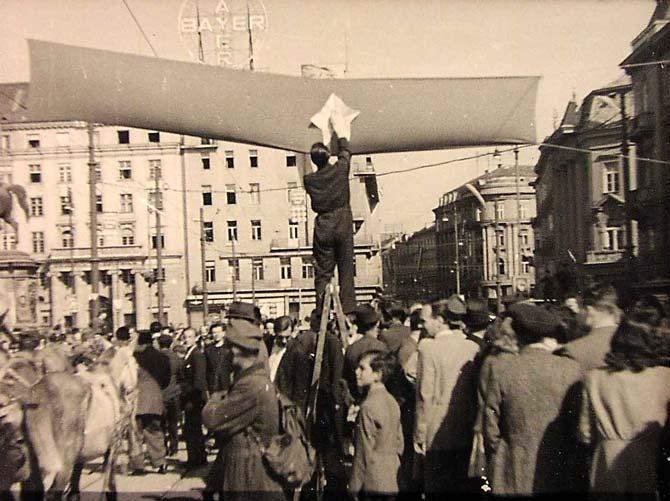 Oslobođenje Zagreba 1945.