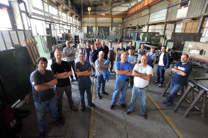Ustrajni radnici TIBO-a