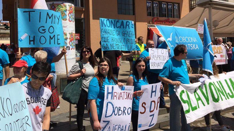 Foto: RP | Današnji prosvjednici trebali bi se ubuduće pridružiti svim radničkim prosvjedima