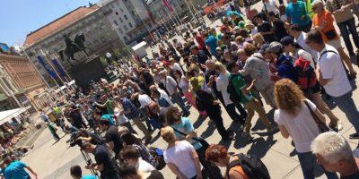 Prosvjed protiv privatizacije državnih poduzeća