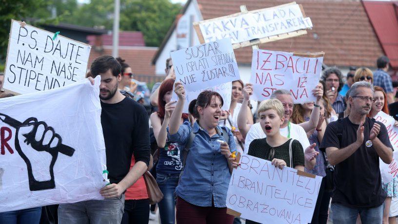 Kao i radnici, studenti jedino jedinstvom i solidarnošću mogu voditi borbu za ostvarenje vlastitih interesa