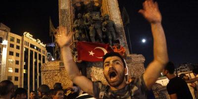 Turska - pokušaj vojnog udara