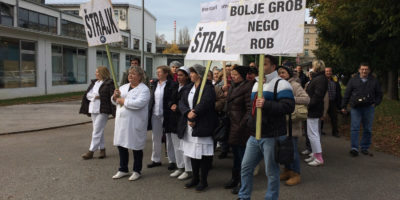 Štrajk radnika u SC-u