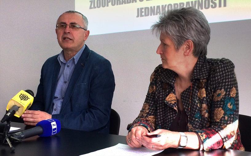 Press konferencija u Preporodu