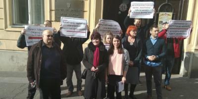 Foto: RP | Predstavnici Lijevog bloka s predstavnicima radnika