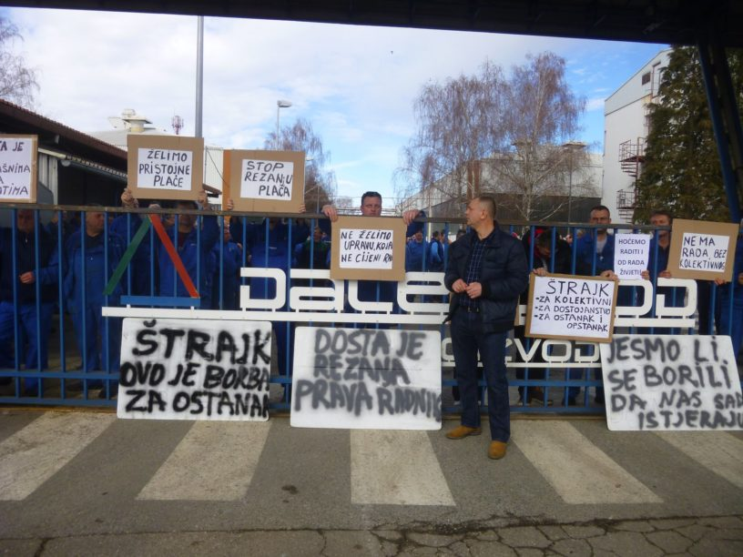 Foto: RP | I nakon štrajka, Uprava Dalekovoda napada radnike