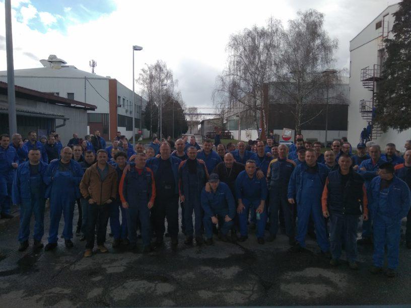 Foto: RP | Četvrti dan štrajka- radnički duh neslomljiv