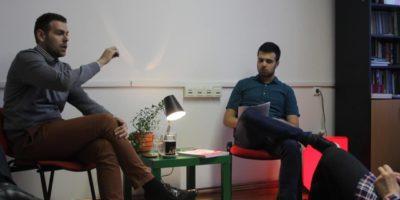 Dimitrije Birač na nedavnoj tribini u Sarajevu