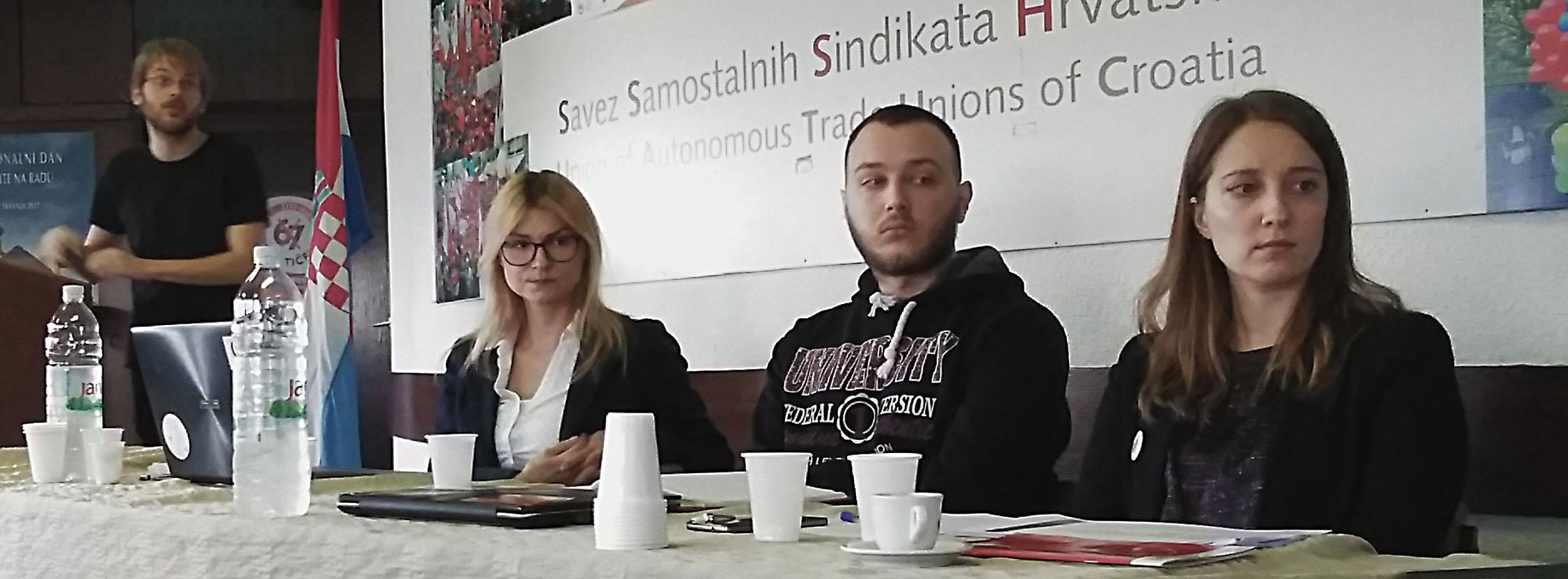 Foto: RP | Jakov Kolak, Maja Pleić, Josip Miličević i Sunčica Brnardić