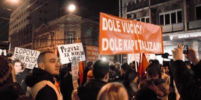 """Protesti u Srbiji: """"1 od 5 miliona"""""""