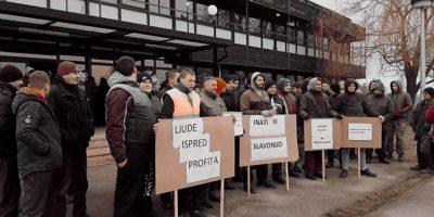 SDF Žetelice - zabrana štrajka