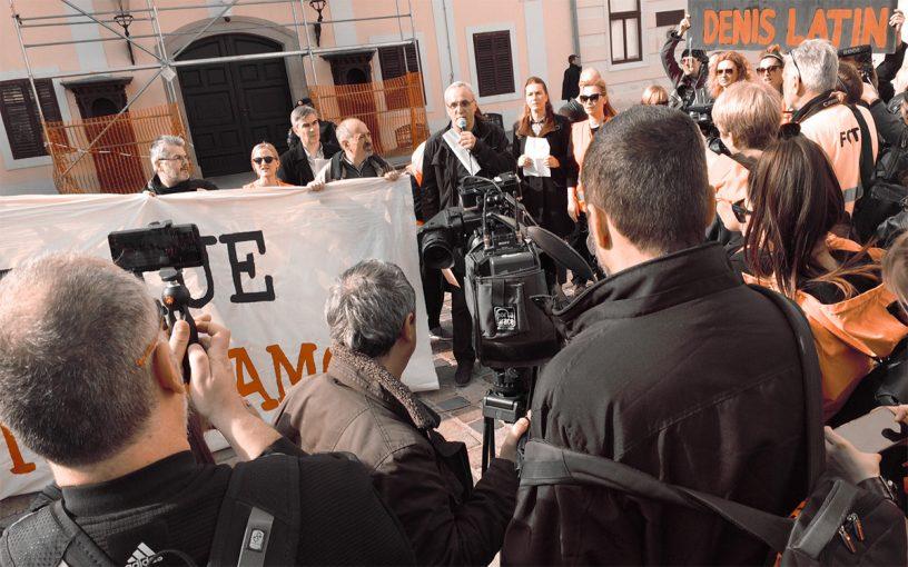Novinarstvo ne damo - Markov trg