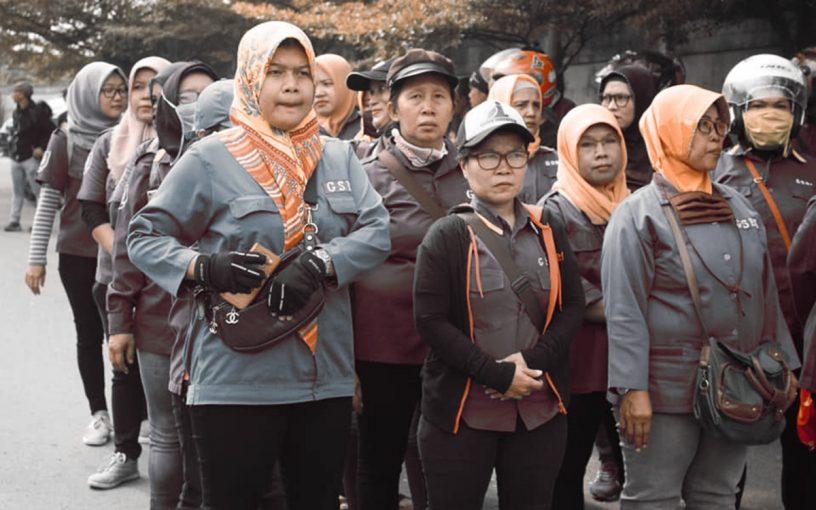Borba indonezijskih radnica - naslov