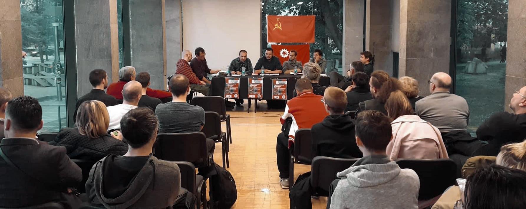 Tribina - Radničke borbe na Balkanu