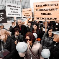 Štrajk prosvjednih radnika