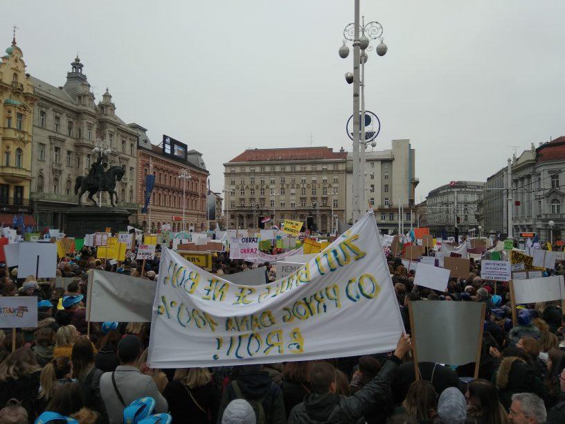 prosvjed škole